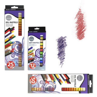 D-R SIMPLY OIL PASTELS SET 25