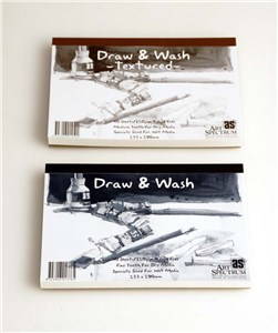 AS DRAW & WASH PAD 210g